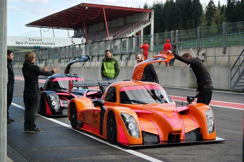 Радикальный гоночный автомобиль Coupe RXC стоковые изображения
