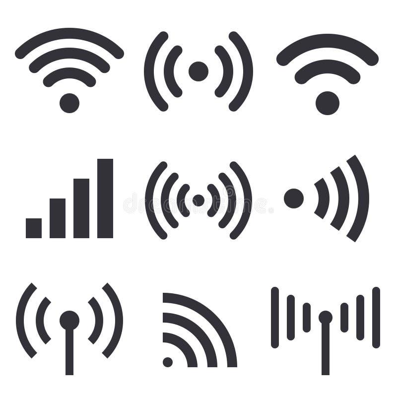 Радиоволны иллюстрация штока