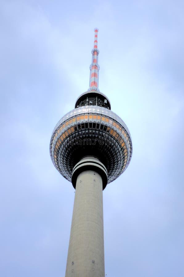Радиовышка Берлина, Германия стоковое изображение rf