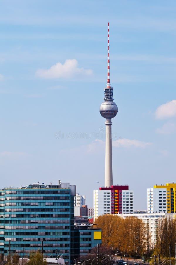 Радиовышка Берлина стоковое изображение rf