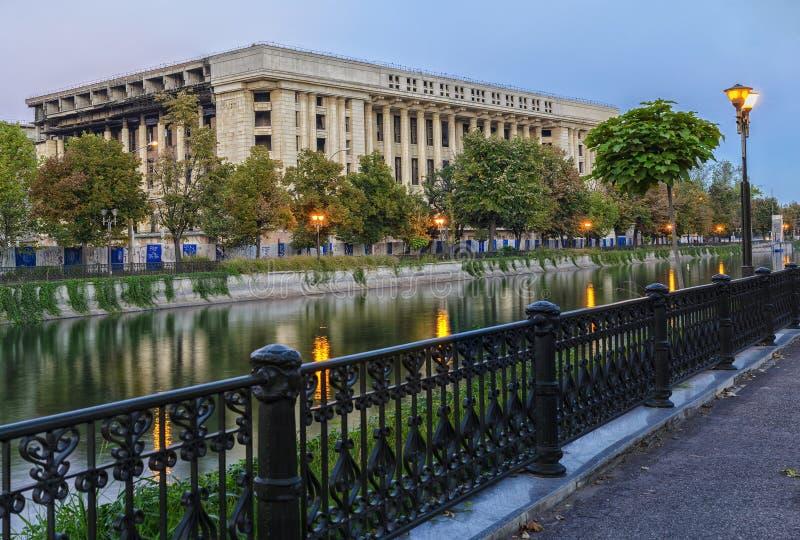 Радио Касы в Бухаресте, Румынии стоковые фото