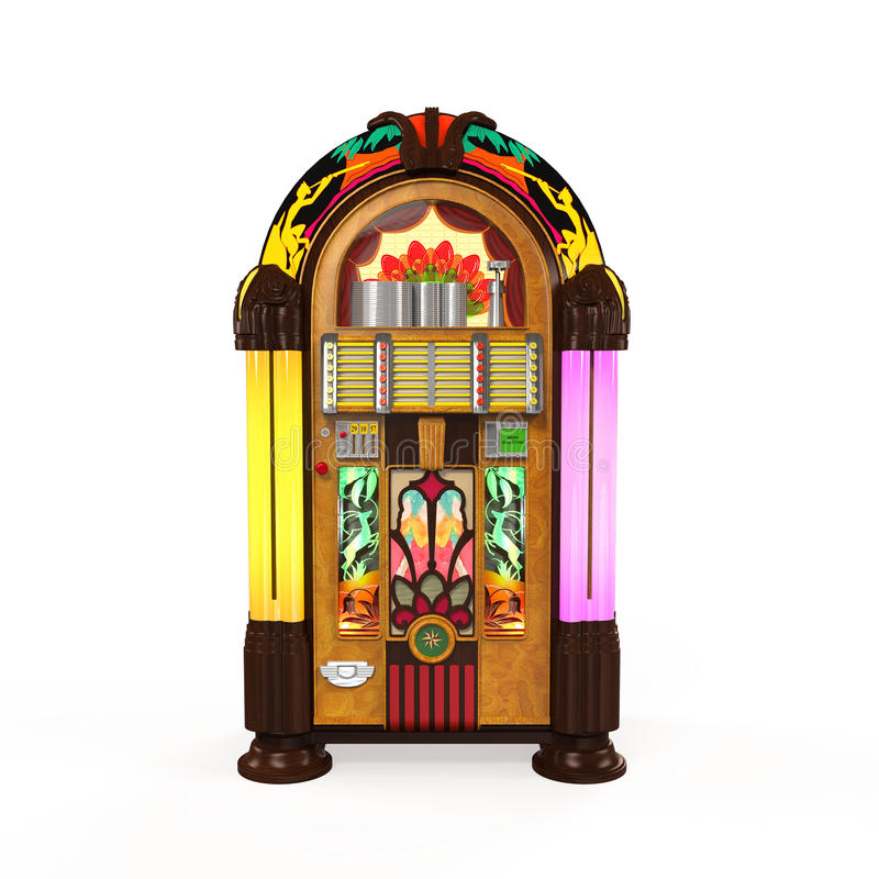 Радио музыкального автомата бесплатная иллюстрация