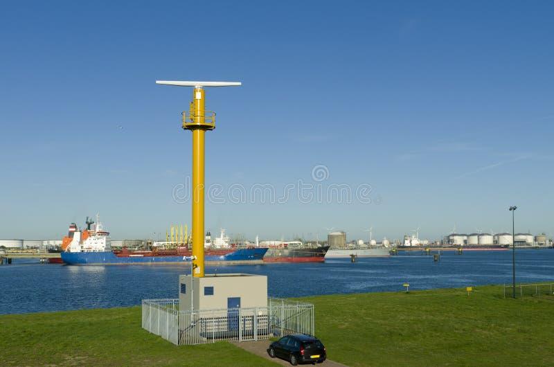 Download Радиолокационная станция стоковое изображение. изображение насчитывающей море - 33725755