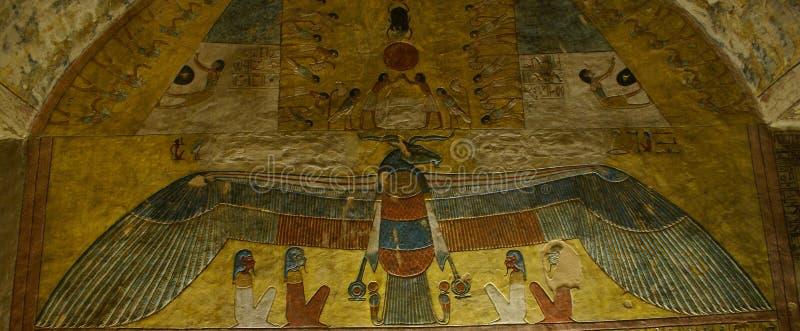 Ра или Re бога Солнця стоковое фото