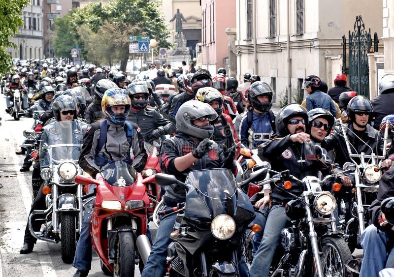 Ралли мотоцикла стоковое фото