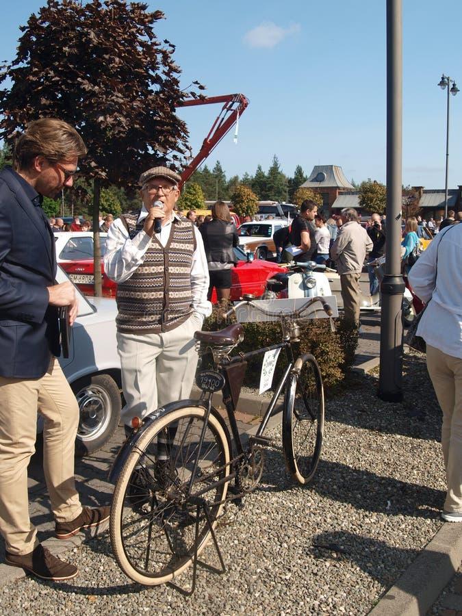 Ралли старых автомобилей стоковое изображение