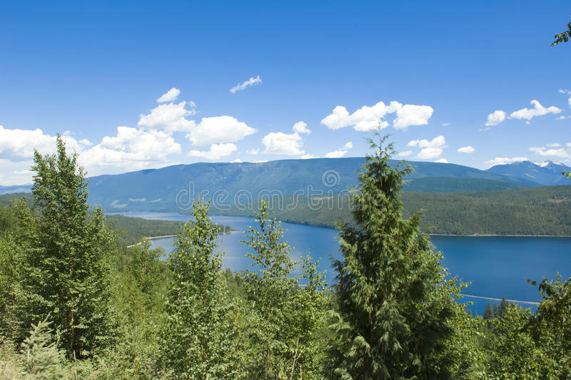 Ради Shuswap, Канада стоковое изображение rf