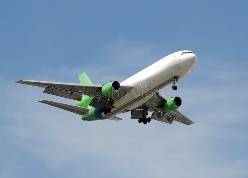 реактивный грузовой самолет стоковая фотография rf