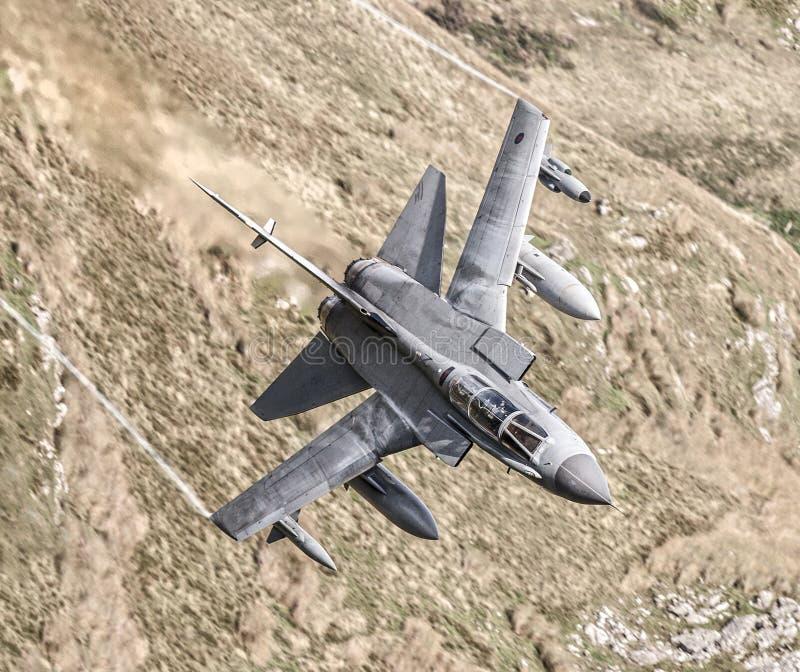 Реактивный истребитель торнадо RAF стоковая фотография