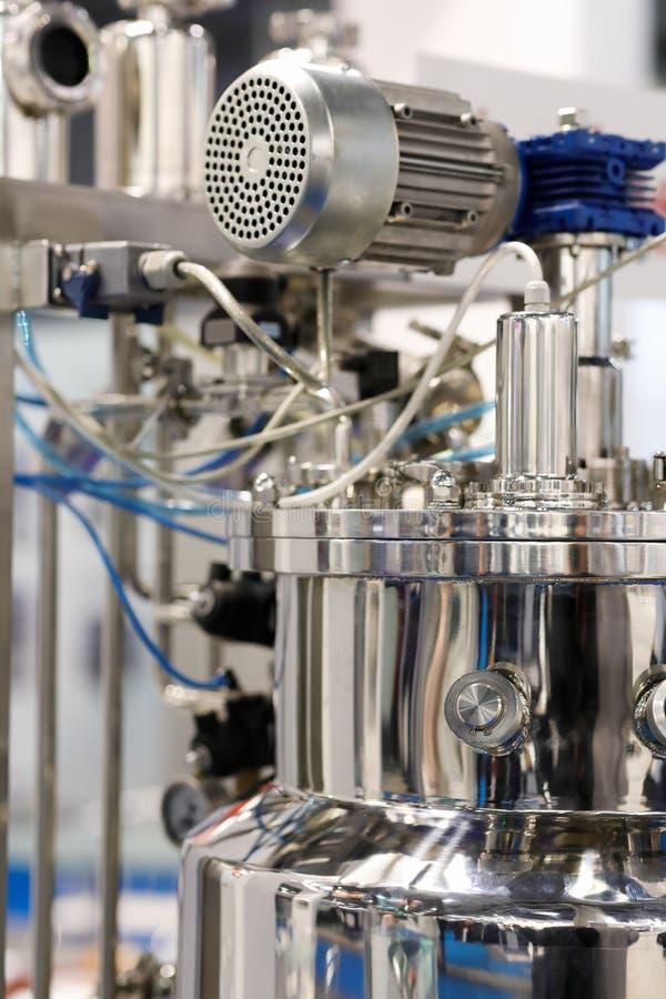 Реактор нержавеющей стали химический стоковое изображение
