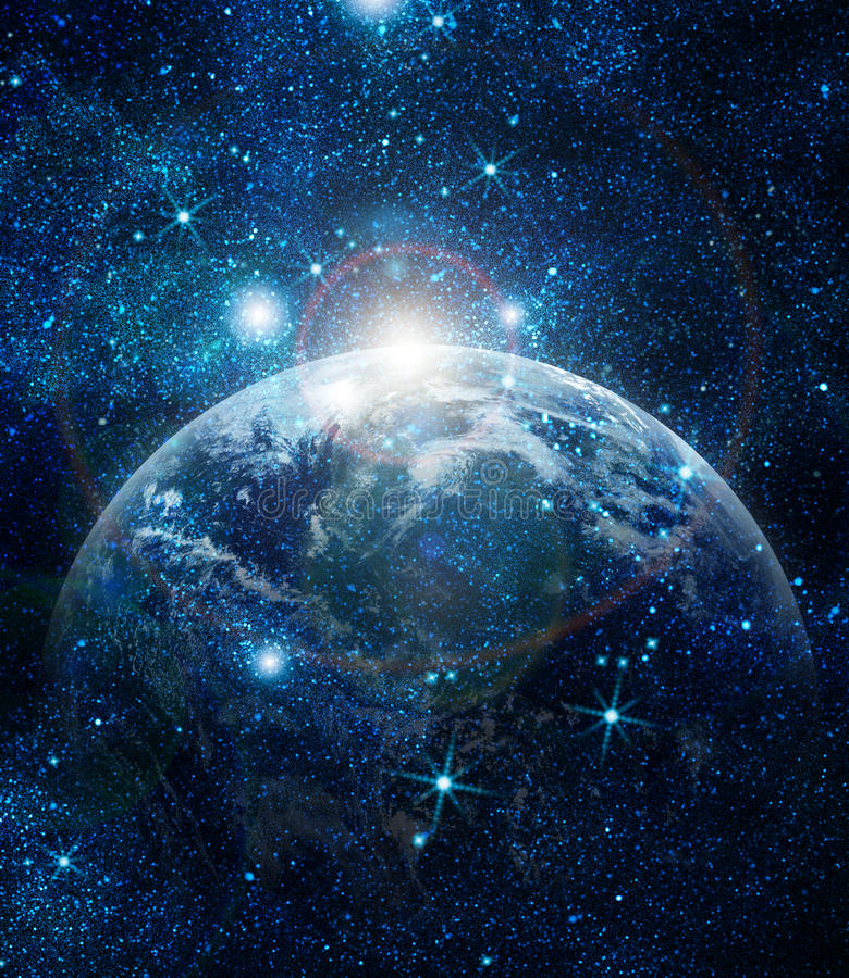 Реалистическая планета стоковое фото rf