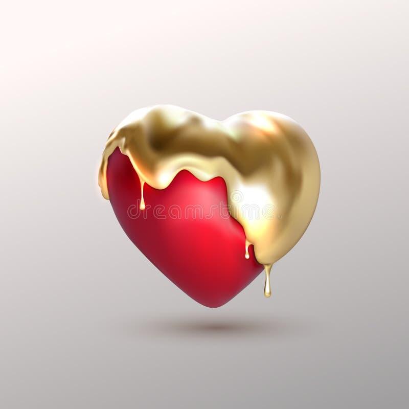 Реалистическая форма сердца 3d бесплатная иллюстрация
