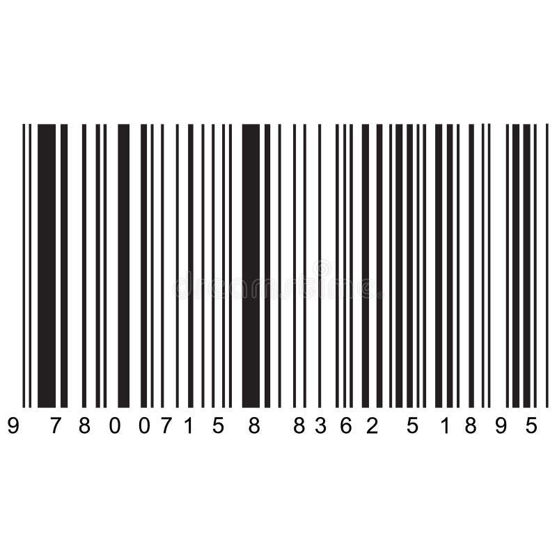 Реалистический вектор barcode иллюстрация вектора