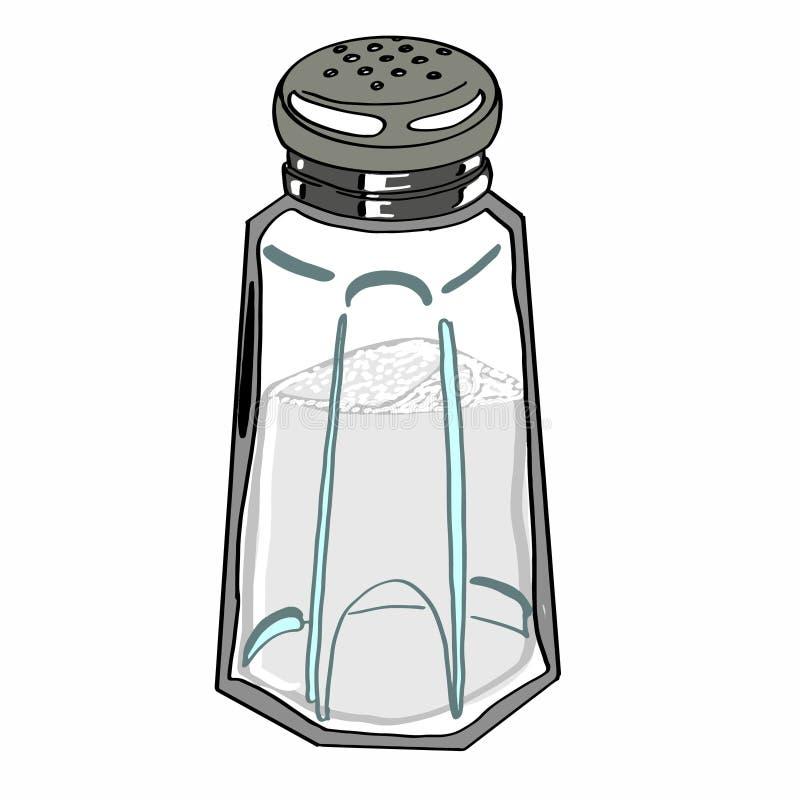 Реалистическое соль иллюстрация штока