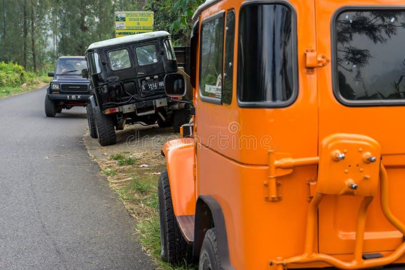 Реальные автомобили 4x4 стоковая фотография