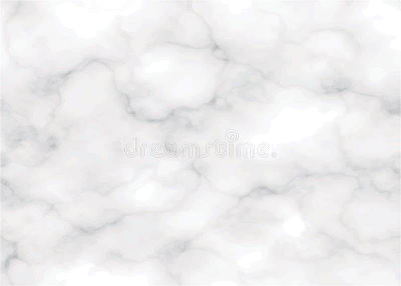 Реальный вектор eps10 предпосылки текстуры мрамора серой шкалы иллюстрация штока