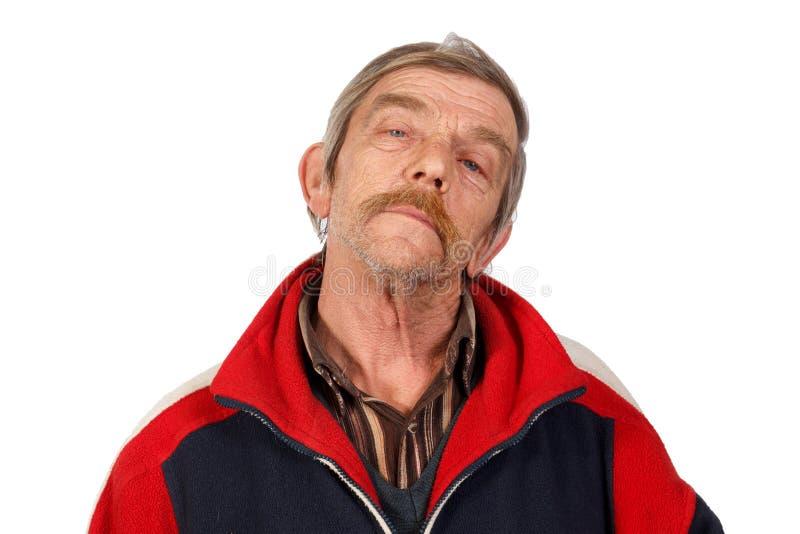 Реальный старик стоковое фото