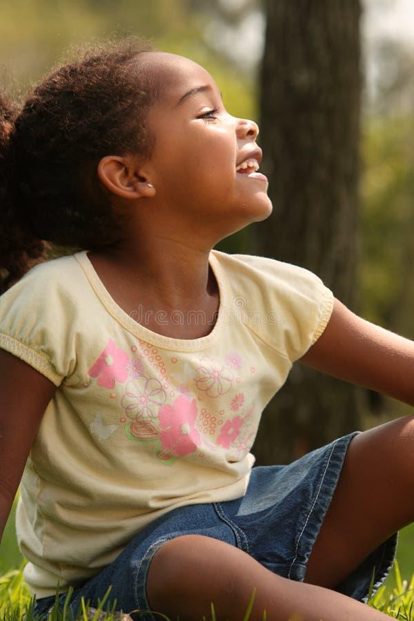 ребенок афроамериканца стоковые изображения