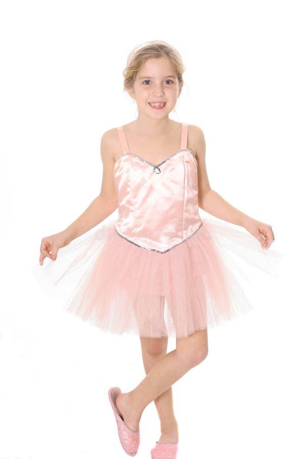 ребенок балерины стоковое изображение rf