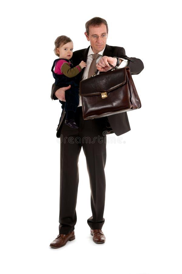 ребенок бизнесмена стоковые фото