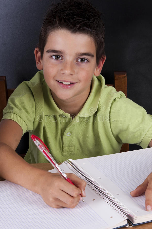 Ребенок в школе стоковое фото