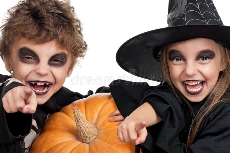Ребенок в costume halloween стоковое фото rf