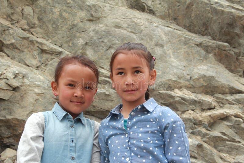 Ребенок в Ladakh стоковое фото rf