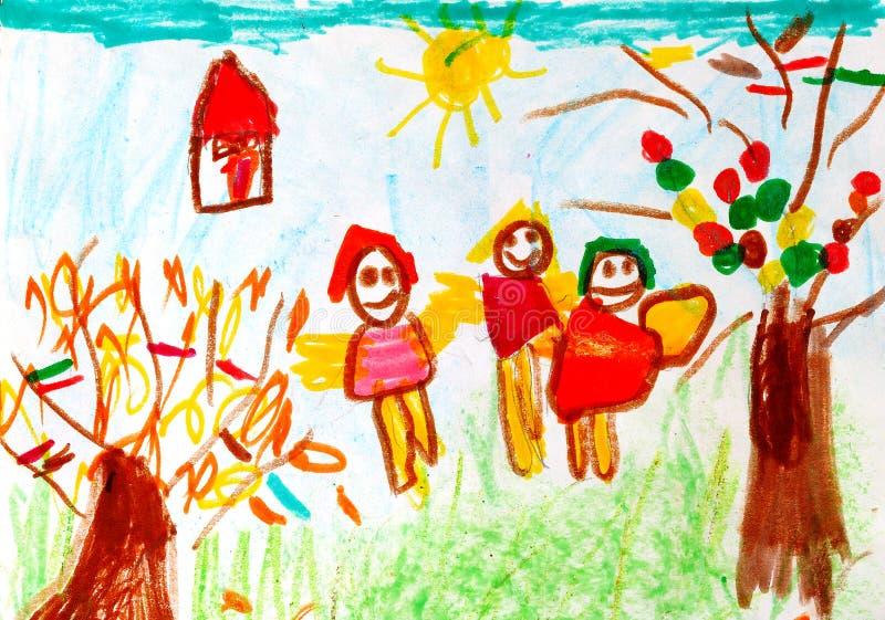 ребенок искусства стоковые изображения rf