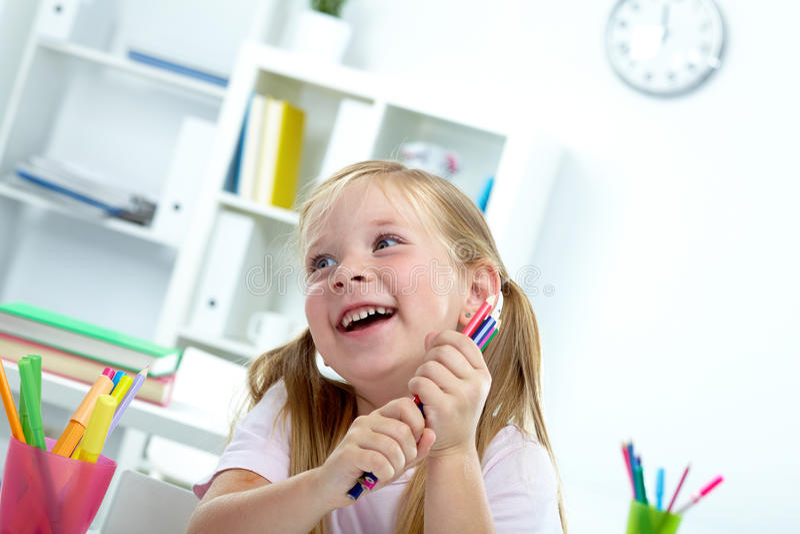 ребенок радостный Стоковые Фотографии RF