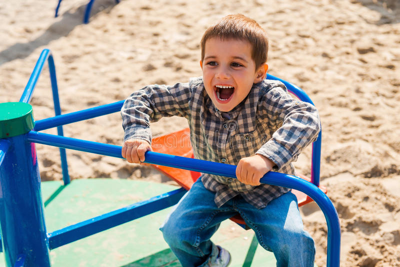 ребенок шаловливый стоковая фотография