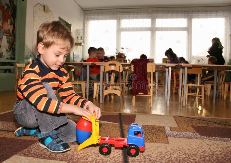 ребенок kindergarten2 стоковое изображение rf