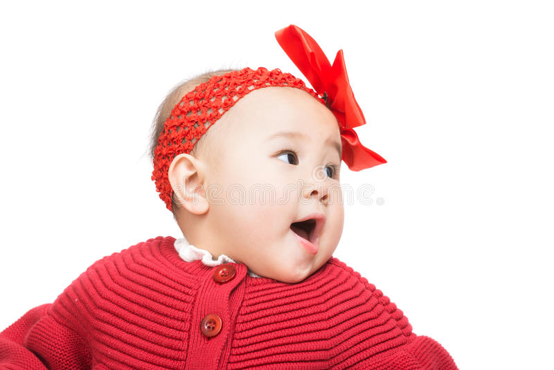 Download Ребёнок смотря назад стоковое изображение. изображение насчитывающей младенец - 37926559