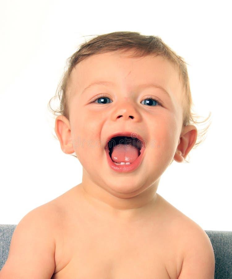 ребёнок счастливый стоковые изображения