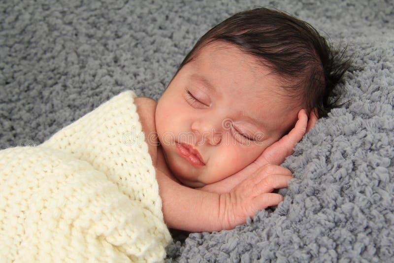 ребёнок newborn стоковое изображение