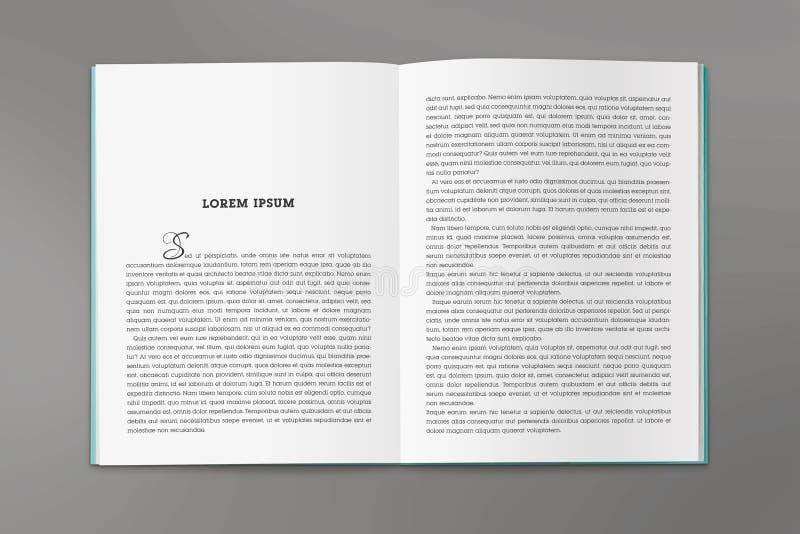 Реверсирование каталога в размере A4 стоковые изображения