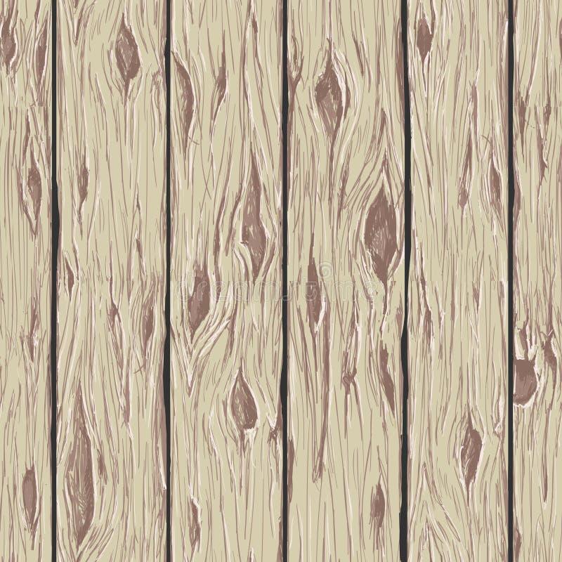 древесина предпосылки безшовная иллюстрация вектора