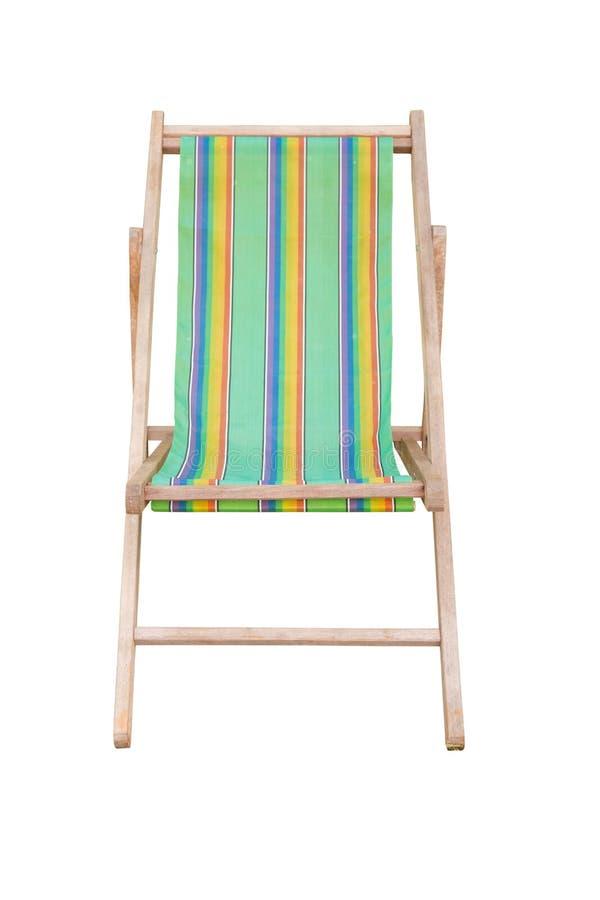 древесина цветов стулов пляжа различная стоковое изображение rf