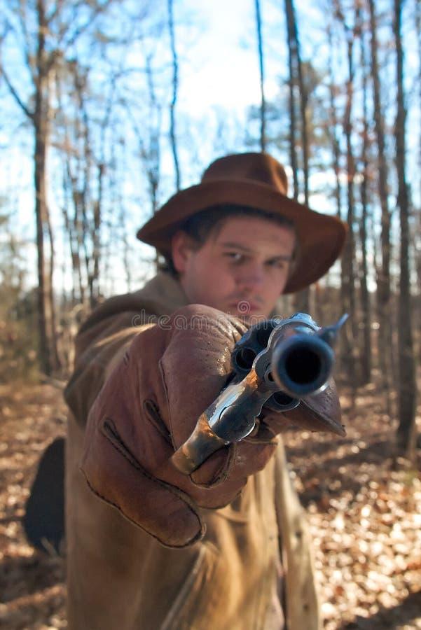 револьвер ковбоя стоковая фотография rf