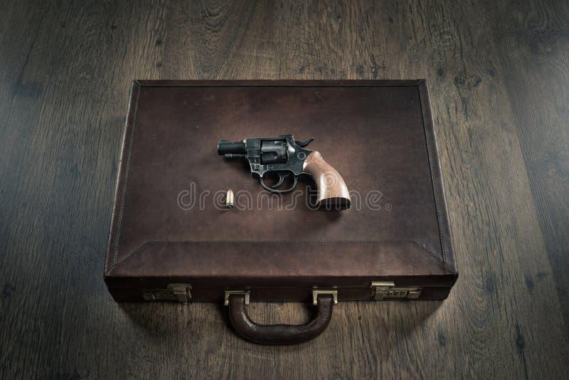 Револьвер гангстера стоковые фотографии rf
