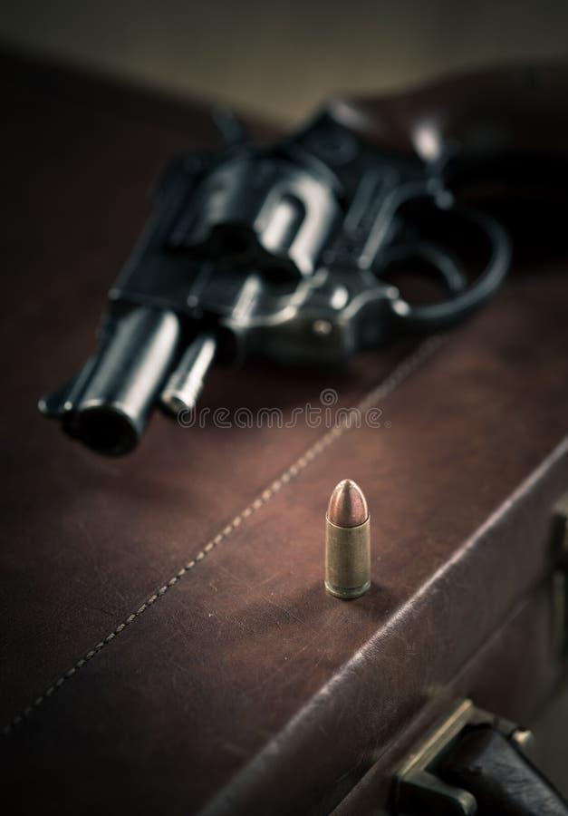 Револьвер гангстера стоковая фотография