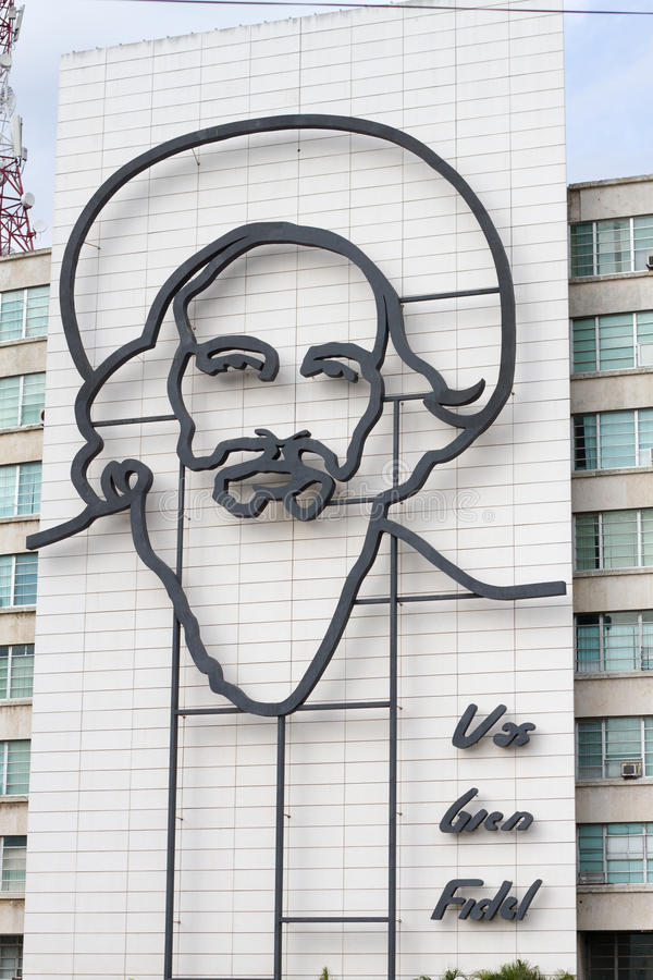 Революция квадратная Гавана стоковые фото