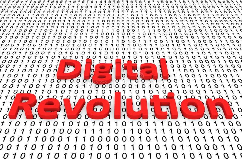 Революция цифров иллюстрация штока
