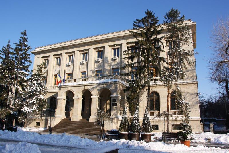 Региональные штабы национального банка Румынии в Iasi, Румынии стоковые фотографии rf
