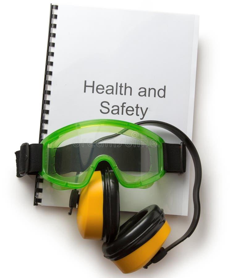 Регистр здоровья и безопасности стоковое изображение