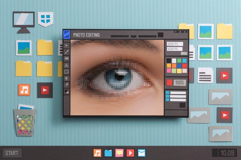 Редактировать и творческие способности фото стоковое изображение rf