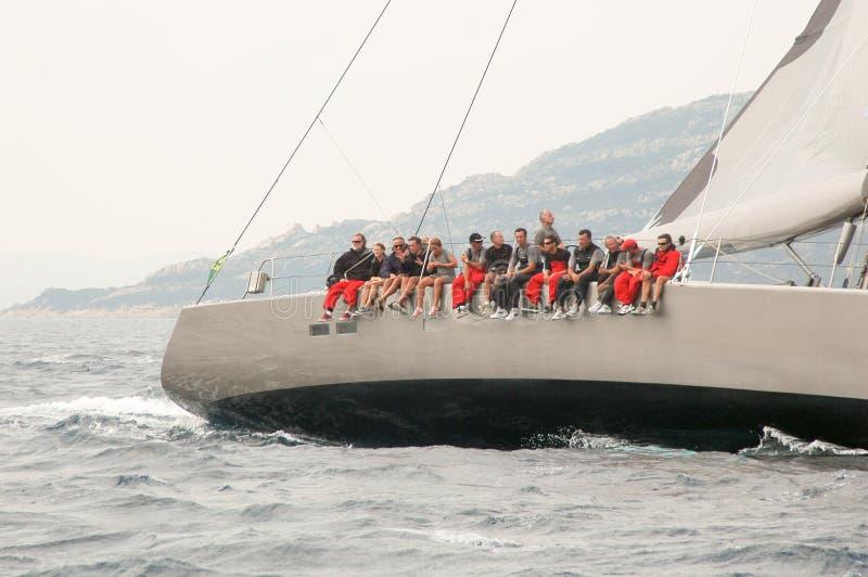 Редакционная макси чашка Rolex яхты стоковые изображения