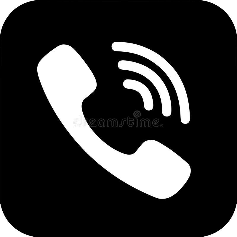 Редакционный - логотип Viber черно-белый