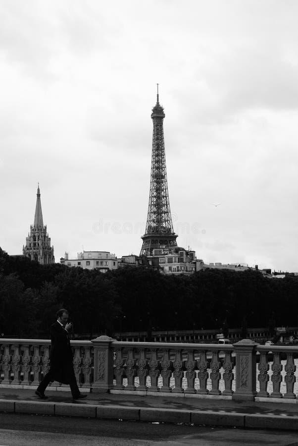 Режим Парижа ежедневный стоковое фото rf