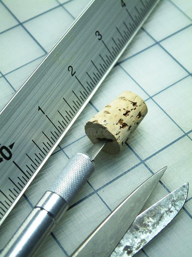 режущие инструменты Стоковая Фотография RF