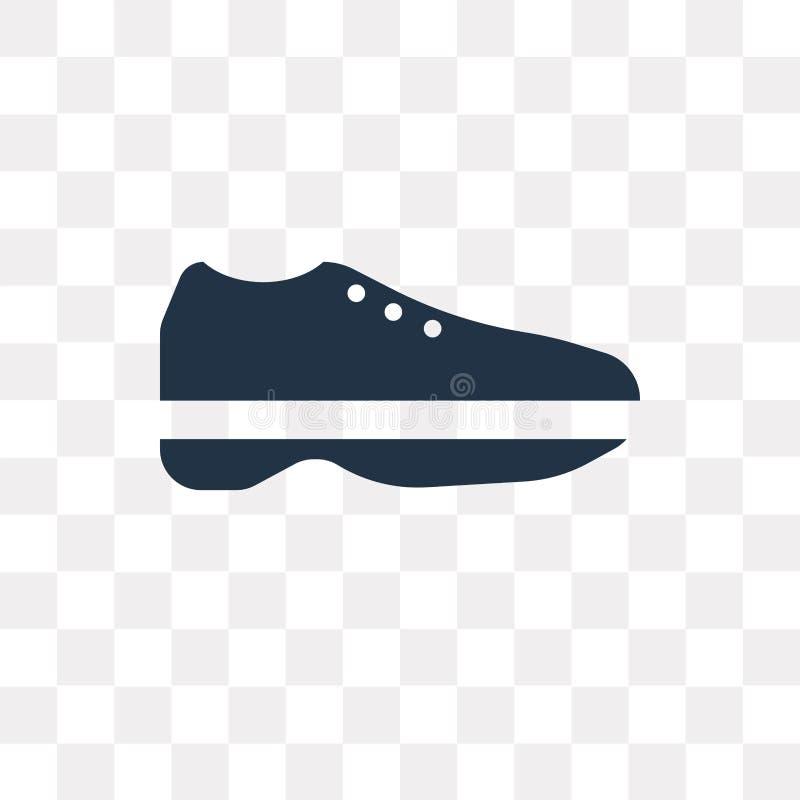 Резвитесь значок вектора ботинка изолированный на прозрачной предпосылке, спорте бесплатная иллюстрация